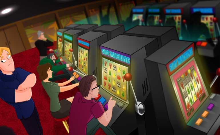 slots player