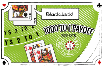 Blackjack side bet: Lucky Ladies